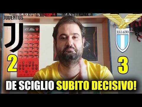 JUVENTUS – LAZIO 2-3 • DE SCIGLIO SUBITO DECISIVO! [SUPERCOPPA ITALIANA]