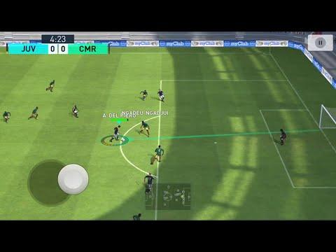 Pes2018 mobile National Teams Tour Juventus vs Cameroon (top player) gameplay #55