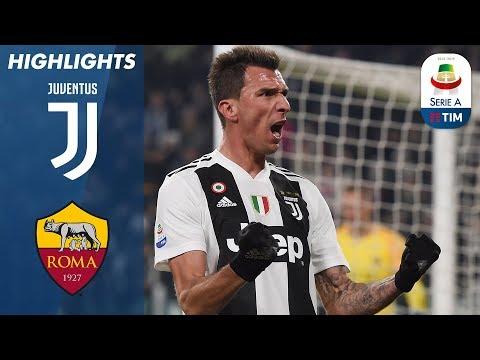 Juventus 1-0 Roma   Mandžukić Header Makes The Difference   Serie A