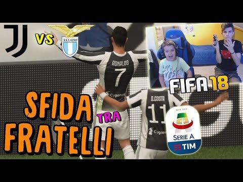 JUVENTUS vs LAZIO – RONALDO SHOW!! CONTRO MIO FRATELLO! – Fifa 18