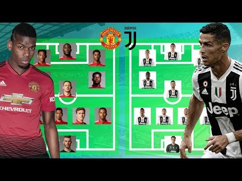 PREDICTED LINEUP MANCHESTER UNITED VS JUVENTUS I CHAMPIONS LEAGUE 2018/2019