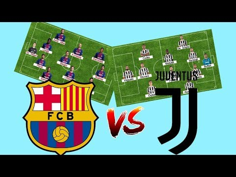 Predicted Lineup – Barcelona Vs Juventus – 12/09/2017 – Champions League | by FootballStories