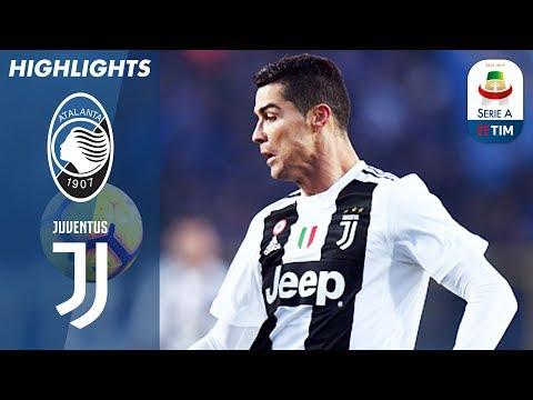 Atalanta 2-2 Juventus    Ronaldo Scores Dramatic Equaliser For 10-Man Juve   Serie A
