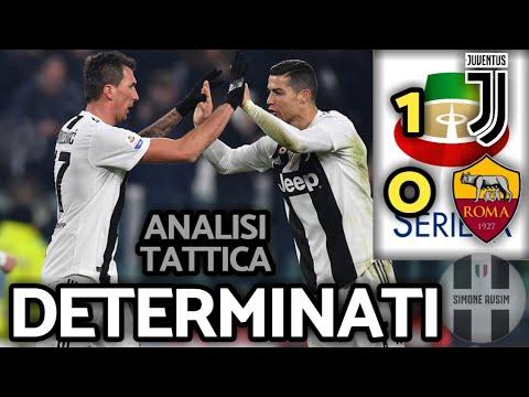 Juve buona a metà ||| Analisi Tattica Juventus-Roma 1-0