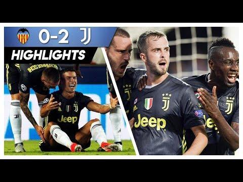 Valencia-Juve 0-2 Gli Highlights • 2018/19