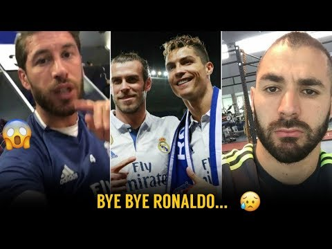 Reaction of Real Madrid Players on Ronaldo's Juventus Transfer | ft. Bale, Benzema, Ramos