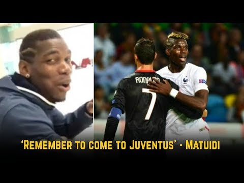 How Paul Pogba Reacted To Cristiano Ronaldo's Juventus Transfer