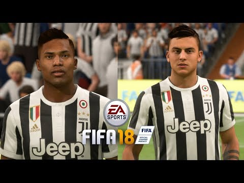 FIFA 18 – ALL JUVENTUS PLAYERS (REAL FACES)