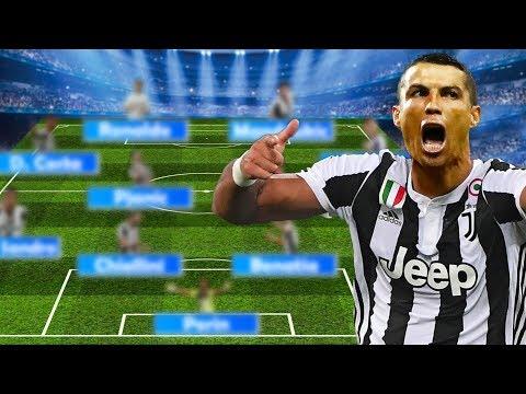 JUVENTUS Potential Lineup 2018/19 | With Ronaldo, Emre Can, Golovin etc.