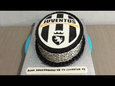 Fc Juventus Cake Logo Buttercream Transfer