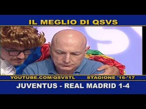QSVS – I GOL DI JUVENTUS – REAL MADRID 1-4 TELELOMBARDIA / TOP CALCIO 24