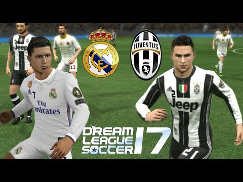 Real Madrid vs Juventus • Dream League Soccer 2017
