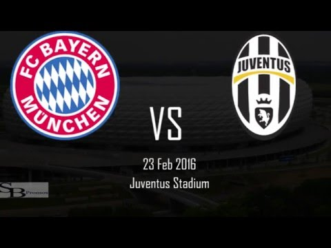 Juventus VS Bayern Munich Champions League 2016 Promo