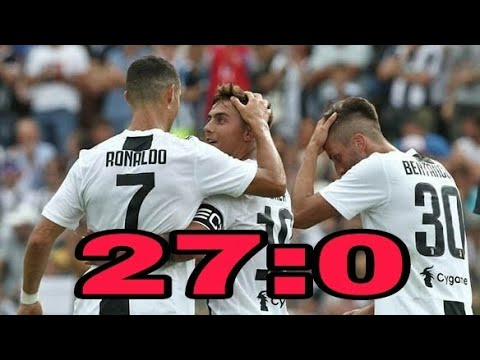 Cristiano Ronaldo First match in Juventus  | Juventus vs Juventus B Highlights & Goals 12/08/2018