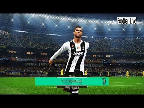 CHIEVO vs JUVENTUS FC | C.Ronaldo Hat Trick | Full Match & Amazing Goals | PES 2018 Gameplay PC