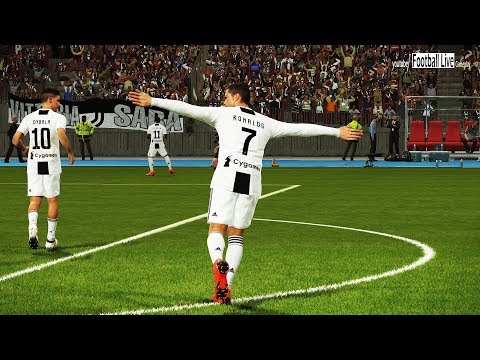 JUVENTUS FC vs LAZIO | C.Ronaldo amazing 2 goals | Full Match & Amazing Goals | PES 2018 Gameplay PC