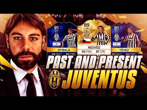 PAST AND PRESENT JUVENTUS SQUAD BUILDER!!!!! – FIFA 16 Ultimate Team