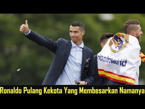 Mengejutkan! Ronaldo Terbang ke Madrid Usai Laga Juventus vs Chievo