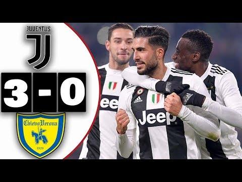 Juventus Vs Chievo Verona 3-0│Resumen y Goles│21/01/2019