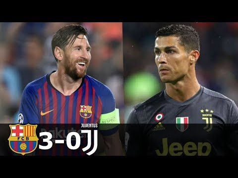 Barcelona vs Juventus 3-0 Goals and Highlights with English Commentary (Champions League) 2018-19