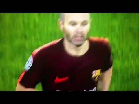 Iniesta Getting Applauded By Juventus Fans in Juventus Stadium UCL 2017-18 • DON ANDRES INIESTA •