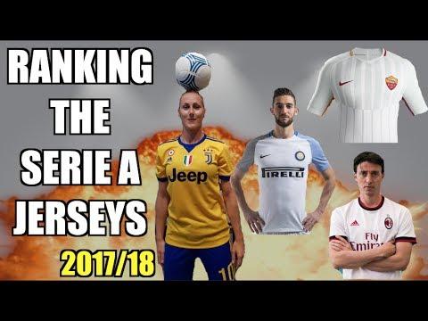 JUVENTUS FC AWAY JERSEY 2017/18 KIT RELEASED!   REACTING TO SERIE A NEW KITS: AC MILAN, ROMA, INTER