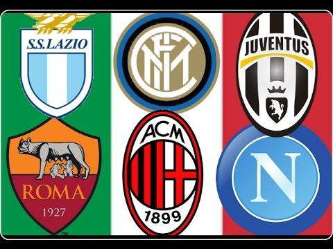 La Storia degli stemmi delle squadre di Serie A (Milan,Juventus,Inter…)
