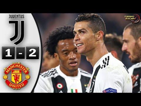 Juventus vs Manchester United 1-2 Resumen Highlights 07/11/2018
