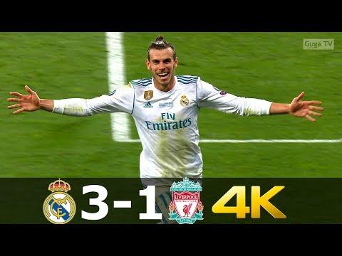 Real Madrid vs Liverpool 3-1 – UCL Final 2018 – Highlights UHD 4K