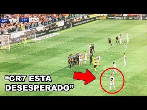 Cristiano Ronaldo DESESPERADO sin GOL en Juventus Vs Lazio 2-0