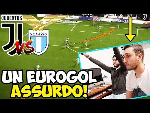 UN EUROGOL ASSURDO! JUVENTUS-LAZIO [FIFA 18 GAMEPLAY ITA]