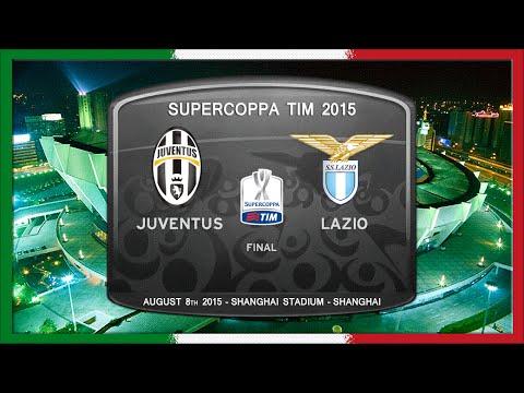 Supercoppa 2015, Juve – Lazio (Full, IT)