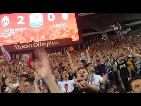 JUVENTUS 2-0 Lazio Finale Coppa Italia – Curva Sud Scirea