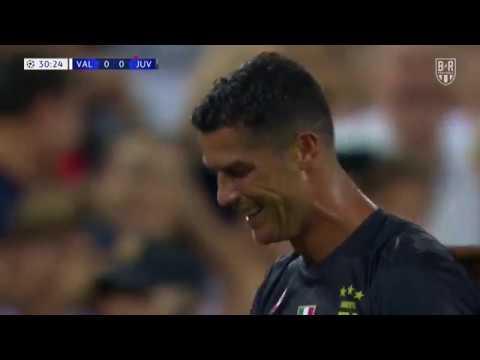 Cristiano Ronaldo Red Card for Juventus vs. Valencia