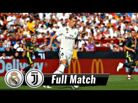 |HD| Real Madrid vs Juventus – Full Match | August 4, 2018 | International Cup 2018