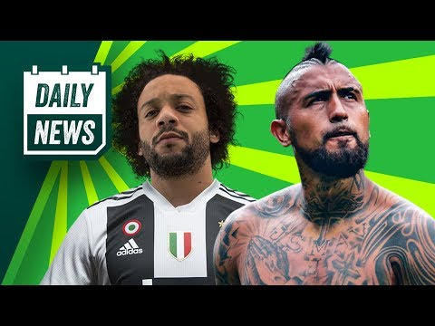 TRANSFER NEWS: Vidal to Barcelona + Marcelo to join Ronaldo at Juventus ► Daily Football News