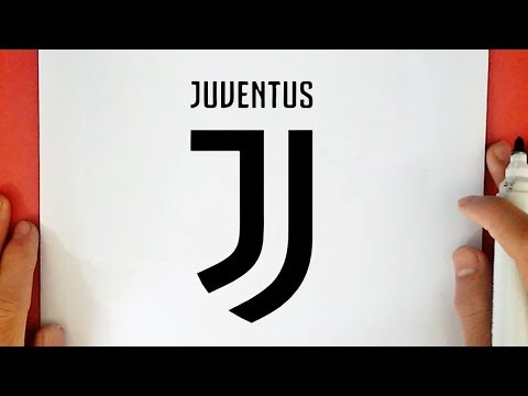 HOW TO DRAW THE JUVENTUS LOGO