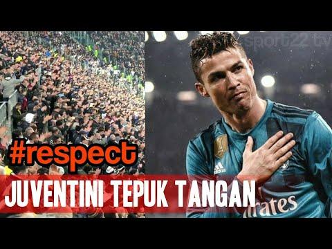 Fans Juventus Tepuk Tangan Lihat Gol Salto Cristiano Ronaldo
