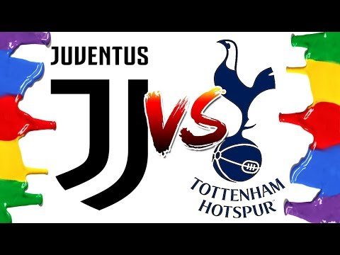 How to Draw and Color – Juventus vs Tottenham Champions League Logos Coloring Pages