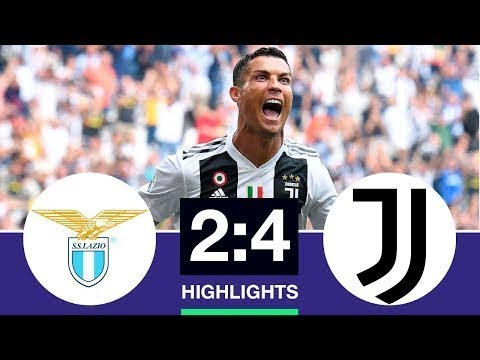 Lazio vs Juventus 2-4 Goals & Highlights 2019 Last Match