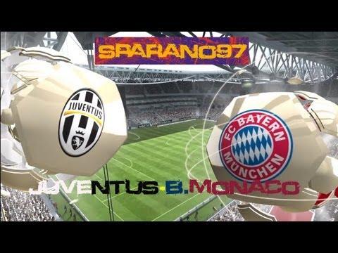 Fifa 13 Juventus VS Bayern Monaco Gameplay Full HD