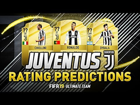FIFA 19 | JUVENTUS PLAYER RATINGS PREDICTIONS | w/ CHIELLINI PJANIC DYBALA & RONALDO | FUT 19