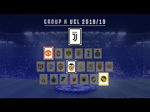 Juventus' 2018/19 UEFA Champions League draw