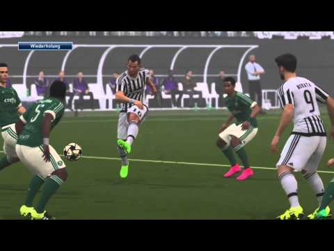 PES 2016 [DEMO] – Juventus (Player) vs. Palmeiras (CPU) [1/2]