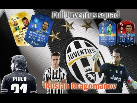 Full Juventus squad