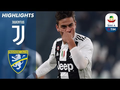 Juventus 3-0 Frosinone | Ronaldo and Dybala Help Juventus Beat Frosinone | Serie A