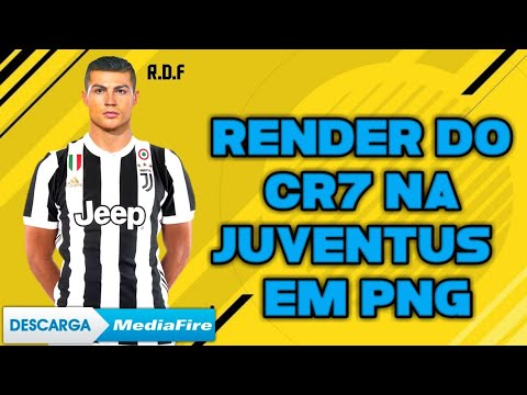 Render Cristiano Ronaldo Na Juventus Em Png – Download Na Descrição