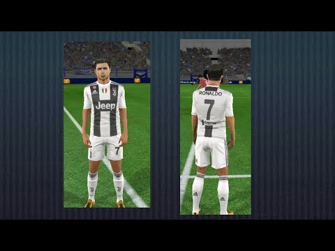 Juventus new kit 18/19 and logo in dream league soccer 18(link below in description)
