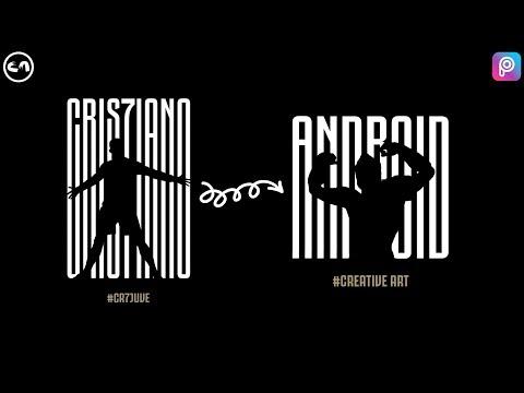 Make a Logo Like CR7 Juventus logo | Picsart Tutorial