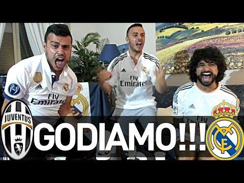 JUVENTUS 1-4 REAL MADRID | GODIAMO!!! REAZIONE FINALE CHAMPIONS NAPOLETANI